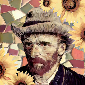 Vincent Van Gogh by Stacey Chiew
