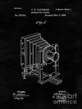 Tina Lavoie - Vintage Camera Blueprint Drawing Sheet One