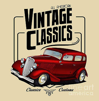 Vintage Classic Delivery by Paul Kuras