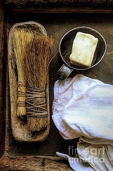 Vintage Cleaning Supplies by Jill Battaglia