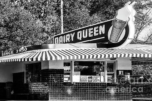 Vintage Ice Cream Stand by Terri Morris