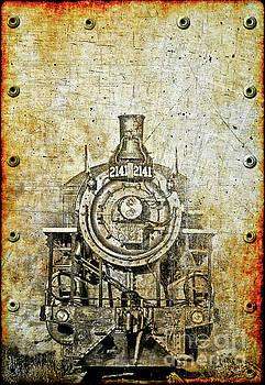 Vintage Locomotive by Billy Knight