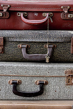 Vintage Luggage Bags by Scott Lyons