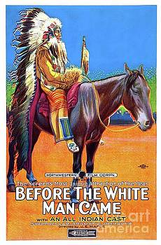 Esoterica Art Agency - Vintage Movie Poster - Before the White Man Came