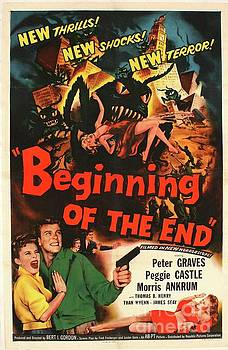 Esoterica Art Agency - Vintage Movie Poster - Beginning of the End
