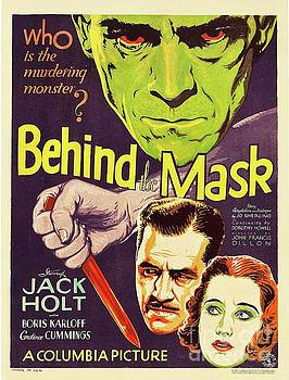Esoterica Art Agency - Vintage Movie Poster - Behind the Mask