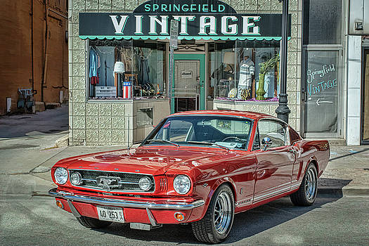 Vintage Mustang by Kirk Sewell