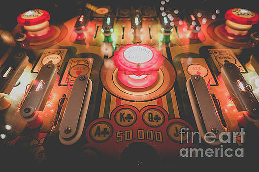 Vintage Pinball Film Fade 2 by Edward Fielding