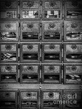 Vintage Post Office Box by Tom Gari Gallery-Three-Photography