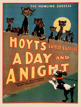 Vintage poster - A Day and a Night by Vintage Images
