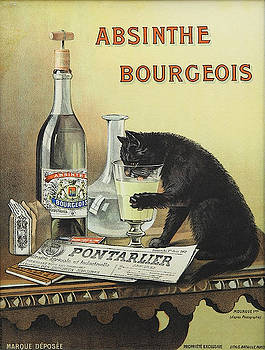 Vintage poster - Absinthe Bourgeois by Vintage Images