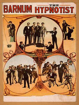 Vintage poster - Barnum the Hynotist by Vintage Images