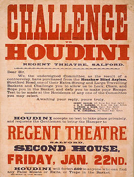 Vintage poster - Challenge Houdini by Vintage Images