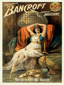 Vintage poster - Frederick Bancroft, Prince of Magicians by Vintage Images