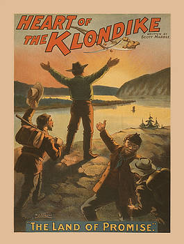Vintage poster - Heart of the Klondike by Vintage Images