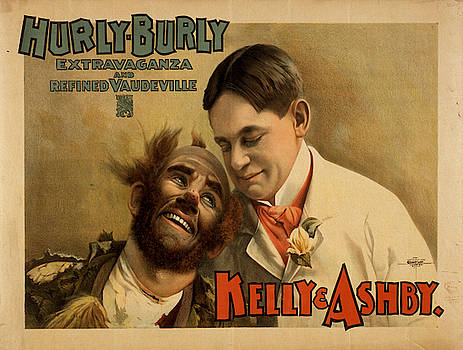 Vintage poster - Hurly Burly Extravaganza and Refined Vaudeville by Vintage Images