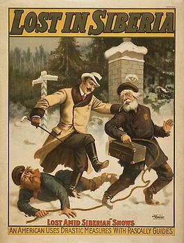 Vintage poster - Lost in Siberia by Vintage Images