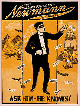 Vintage poster - Newmann the Great by Vintage Images