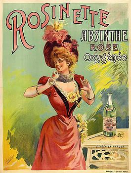 Vintage poster - Rosinette Absinthe by Vintage Images