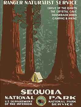Vintage poster - Sequoia National Park by Vintage Images