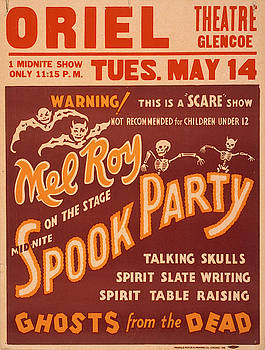 Vintage poster - Spook Party by Vintage Images
