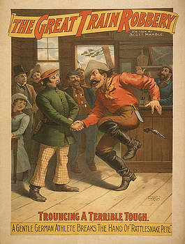 Vintage poster - The Great Train Robbery by Vintage poster - The Great Train Robbery