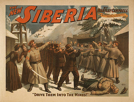 Vintage poster - The New Siberia by Vintage Images