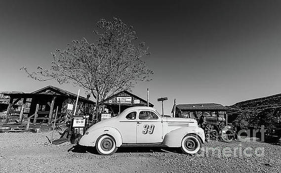 Vintage Race Car Gold King Mine Ghost Town by Edward Fielding