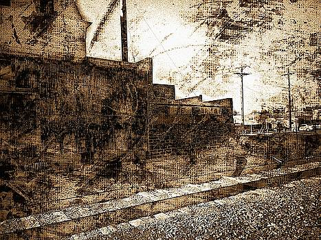 Vintage Railroad Avenue by Lenore Senior