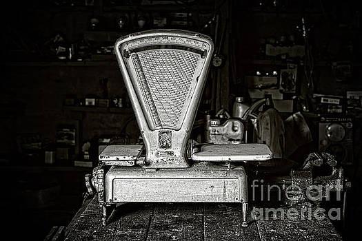 Vintage shop scale by Delphimages Photo Creations