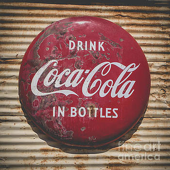 Vintage Soft Drink Sign by Edward Fielding