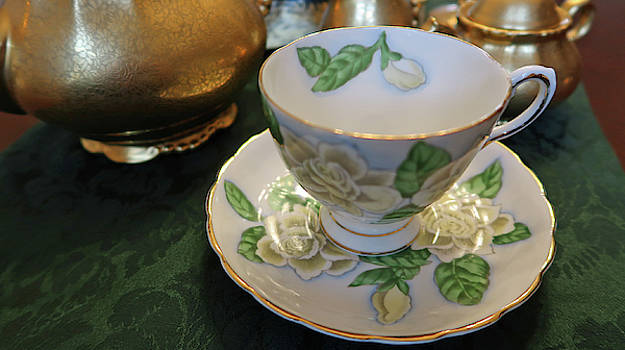Vintage Teacup by Connie Fox