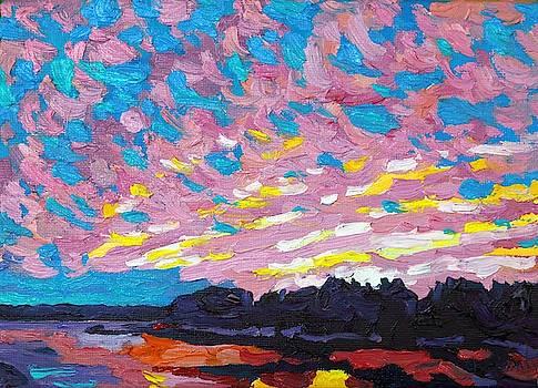 Phil Chadwick - Virga Singleton Sunset