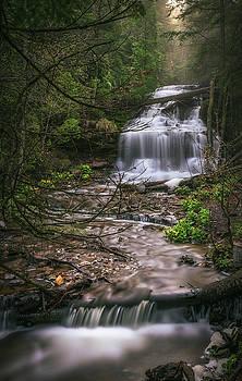 Wagner Falls by Marybeth Kiczenski