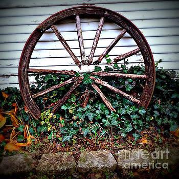 Frank J Casella - Wagon Wheel Circle and Lines