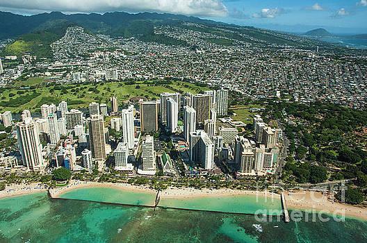 Waikiki Bay 2 by Micah May