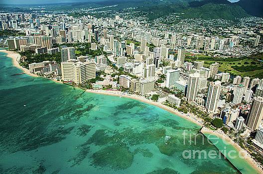 Waikiki Bay 3 by Micah May