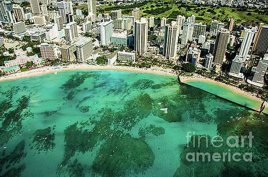 Waikiki Bay 1  by Micah May
