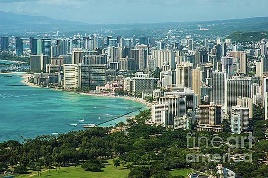 Waikiki City, HI by Micah May