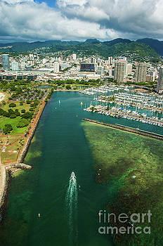 Waikiki Harbor by Micah May