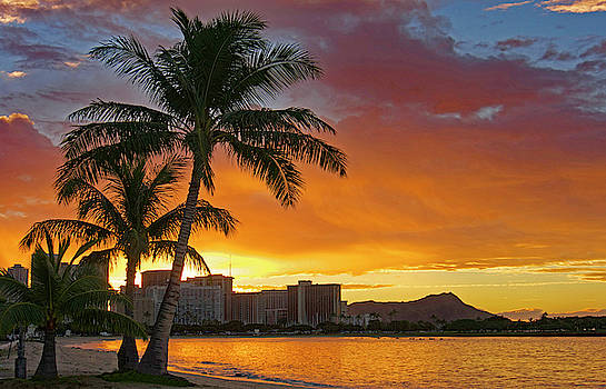 Asia Visions Photography - Waikiki Sunrise E
