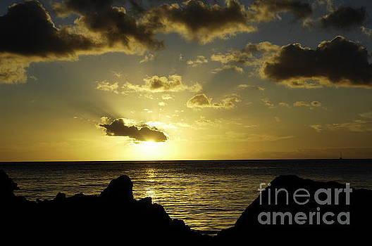 Waikiki sunset by Micah May