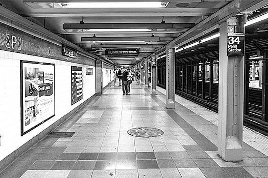 Sharon Popek - Waiting at Penn Station