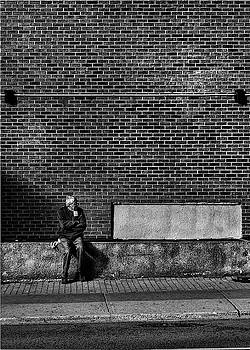 Waiting For A Streetcar by Brian Carson