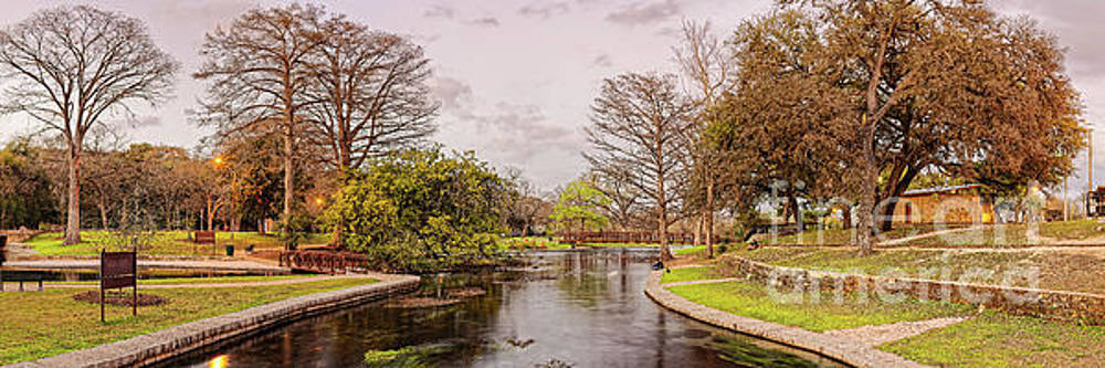 Waiting for the Spring Equinox at Landa Park and Comals Springs - New Braunfels Texas Hill Country by Silvio Ligutti
