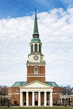 Wake Forest Chapel by John Greim