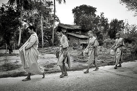 Walk for Alms 5 by Lee Craker