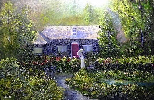 Walk In The Garden by Michael Mrozik