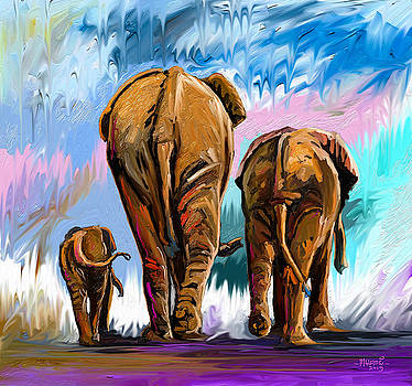 Walking Away by Anthony Mwangi