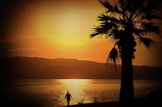 Walking down the beach by Milena Ilieva